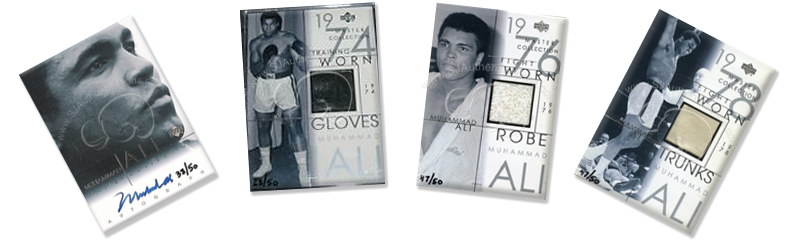 Muhammad Ali Upper Deck Cards
