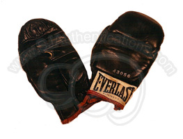 Muhammad Ali Everlast Training Gloves